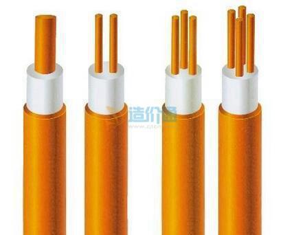 铜芯氧化镁绝缘铜护套重载防火电缆BTTZ4×25+1×16图片