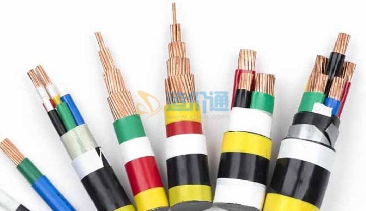 低烟无卤聚稀烃阻燃电力电缆图片