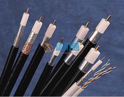75Ω聚乙烯绝缘屏蔽聚氯乙烯护套同轴电缆图片
