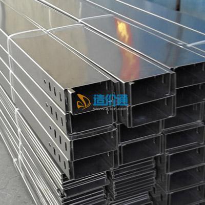 热镀锌梯式桥架(不带盖)图片