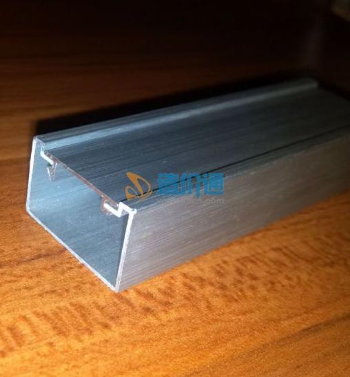 铝合金半圆弧地板线槽图片