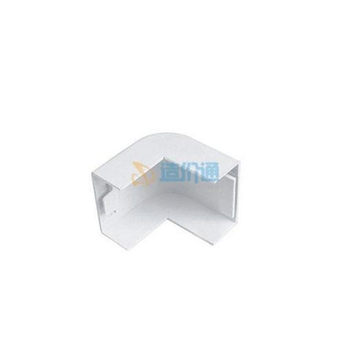 PVC难燃电线槽-槽外角图片