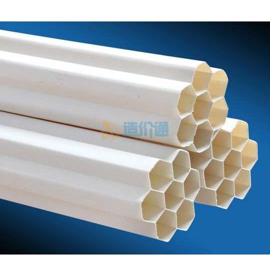 通信电缆PE多孔管四孔管图片