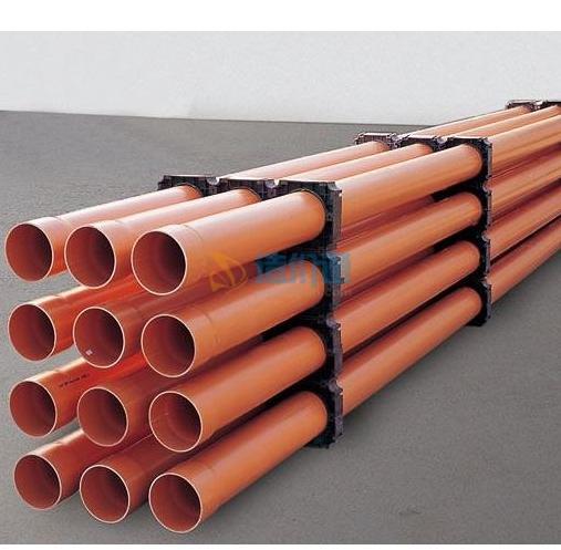 地下通信管道用PVC-U九孔格栅管图片