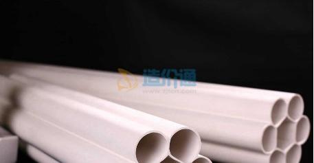 PVC-U蜂窝梅花管图片