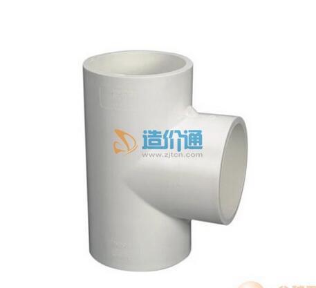 PVC-U电工配件三通图片