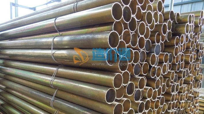 三级热镀锌导线管图片