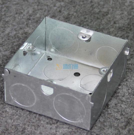 地脚插金属底盒图片