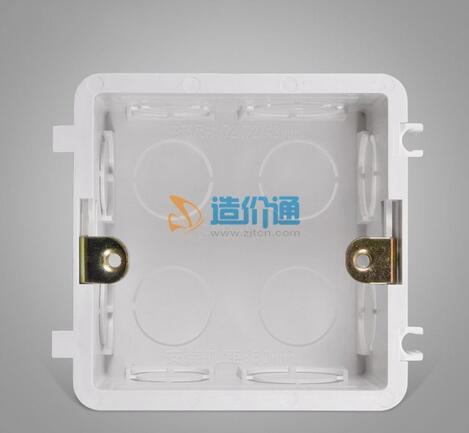 PVC-U双联盒图片