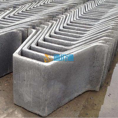 成品钢筋混凝土U型槽图片