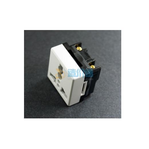 光纤插座模块图片