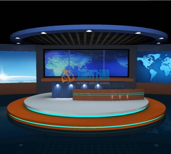 虚拟演播室图片
