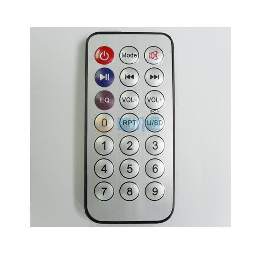 蓝牙插卡平面艺术音箱(带遥控器)图片