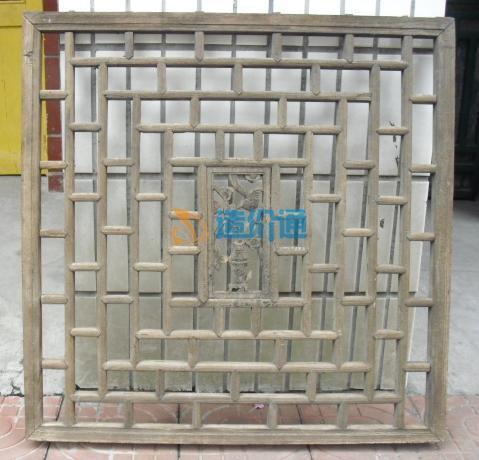 成品铸铁花格窗(园林建筑窗)图片