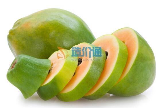 木瓜植物盆栽图片