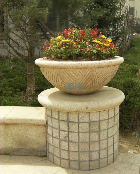 景观花钵图片