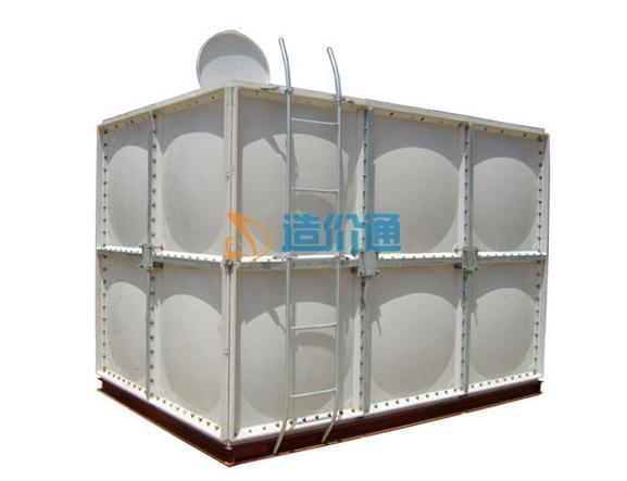自洁式玻璃钢水箱图片