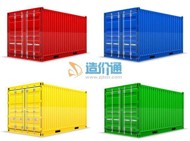 木质集装箱图片