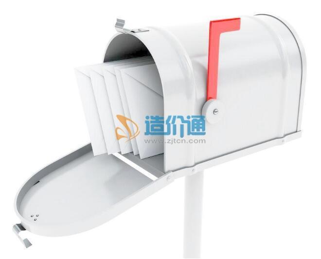 杭州不锈钢别墅式信报箱图片