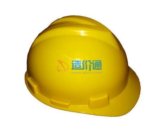 红色带垫安全帽图片