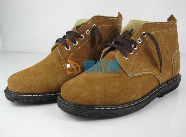 普通劳保皮鞋图片