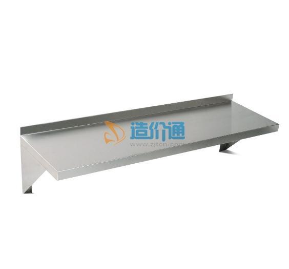 单层板式米面架图片