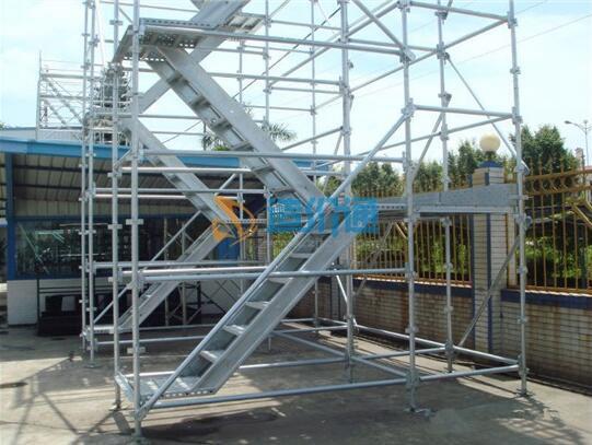 安徽施工安全爬梯图片