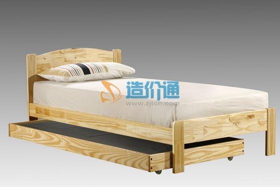 单人床床屏图片
