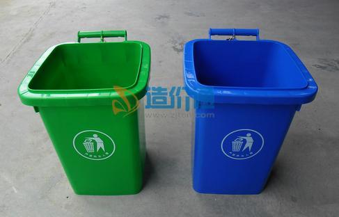 园区垃圾桶图片