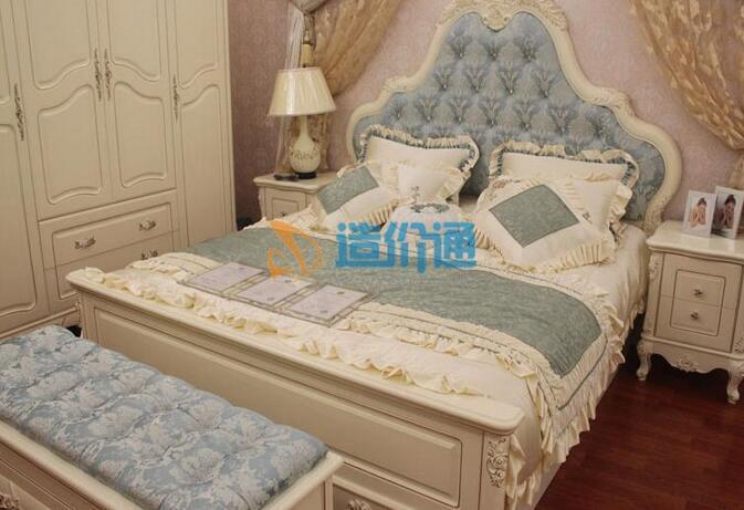 双床床屏图片