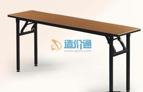 条桌(带轮子)图片