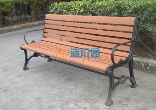 木制园林椅图片