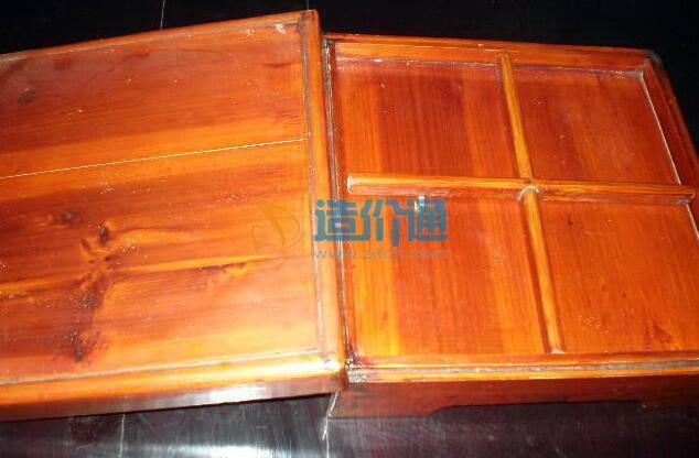 双口桌盒图片