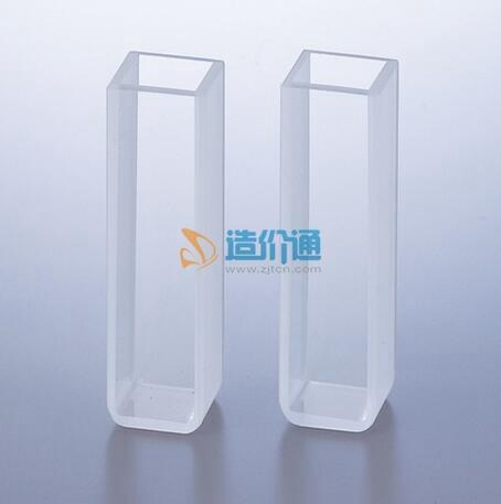 玻璃带塞微量比色皿图片