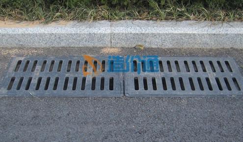 防盗弹性自锁平入式收水井箅子图片