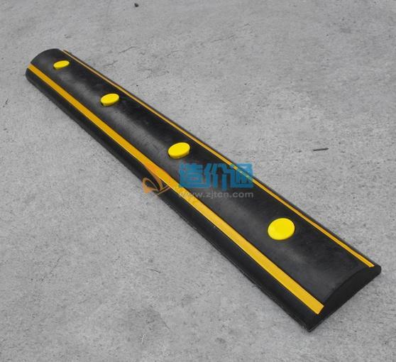 防撞胶条(高级耐磨弹性黄色反光镜)图片