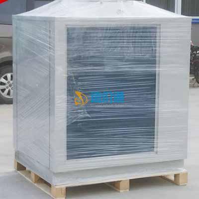 冷暖热泵室外机图片