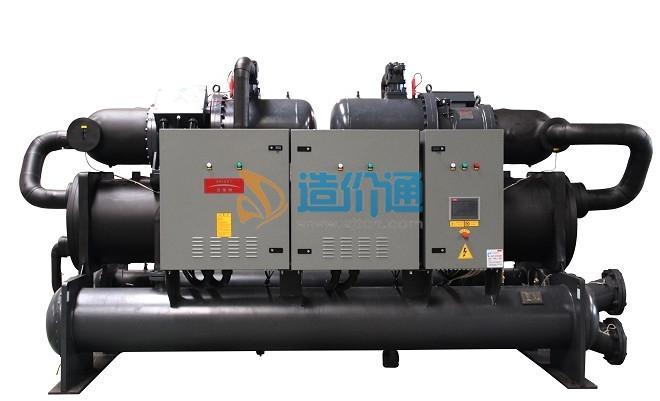 水地源热泵冷热水机组图片