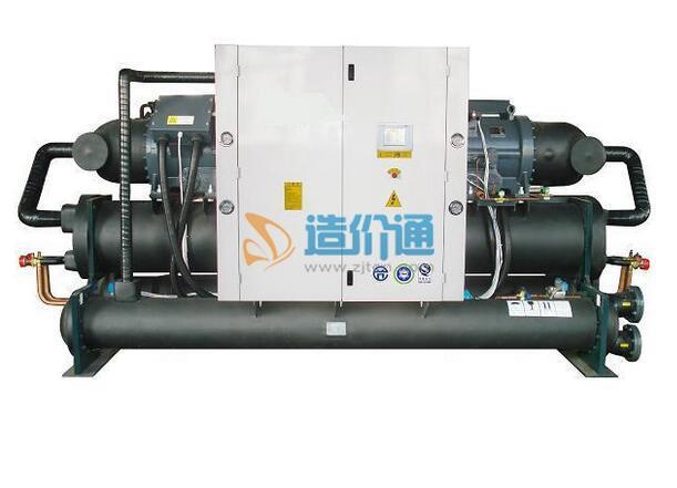 满液式水源螺杆热泵机组R134a图片