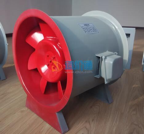 HTF-(B)-Ⅱ型消防斜流排烟风机图片