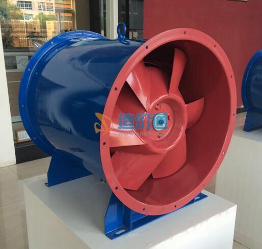 低噪音柜式离心双速送风兼消防补风风机图片