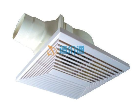 超薄天花板管道式换气扇图片
