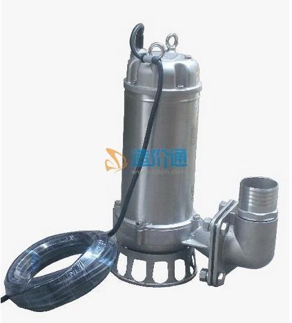 QDNF型全不锈钢潜水泵(不锈钢板材:304材质)图片