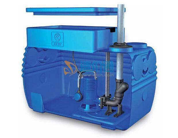 餐饮废水处理间排水泵图片