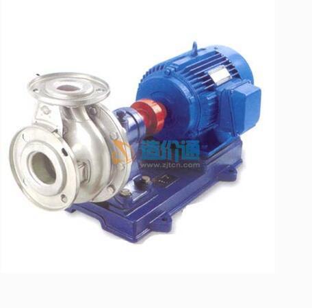 立式多级轻型不锈钢冲压泵(过流部件不锈钢304)图片
