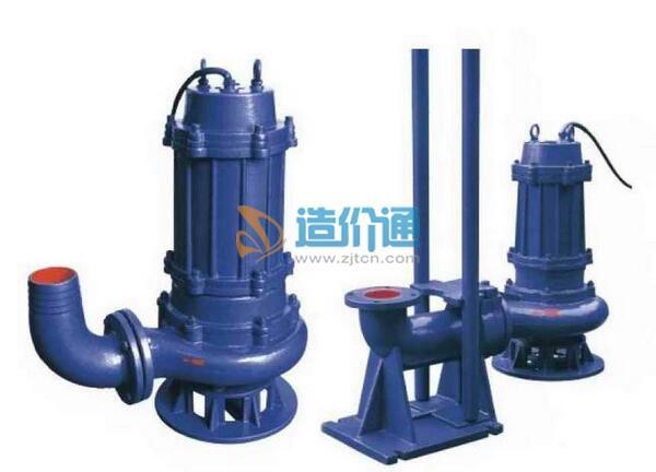 潜水排污泵-自耦装置图片