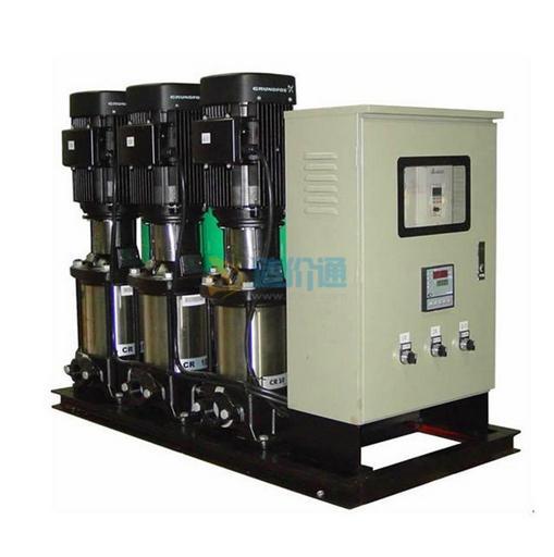 变频加压泵组连气压罐图片