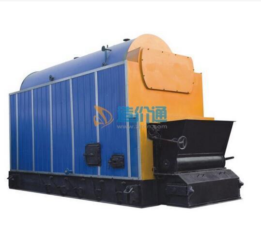燃煤卧式链条炉排蒸汽锅炉图片