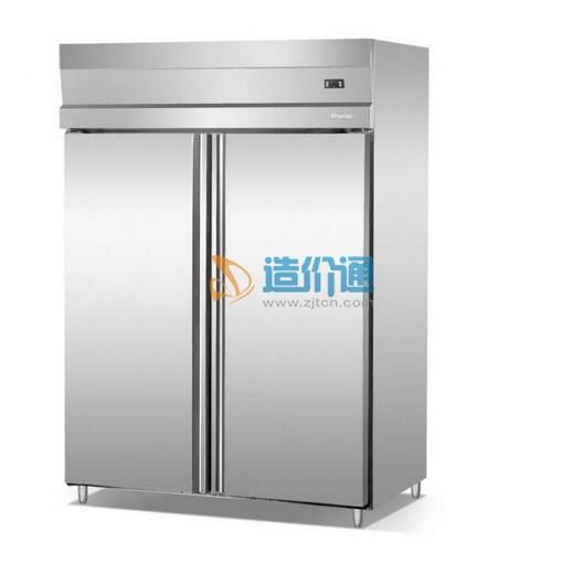 六封门双温冷冻冷藏柜图片