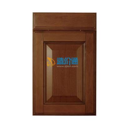 实木橱柜门图片